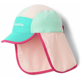 Columbia Junior II Cachalot Hat Youth, tropic water/pink sand